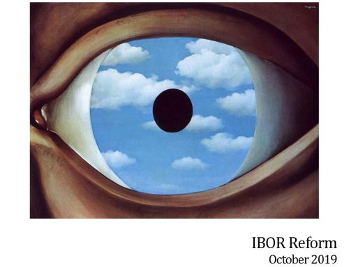 IBOR Reform – October 2019